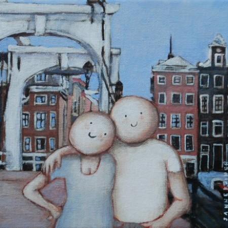 Amsterdam 18 x 18 cm