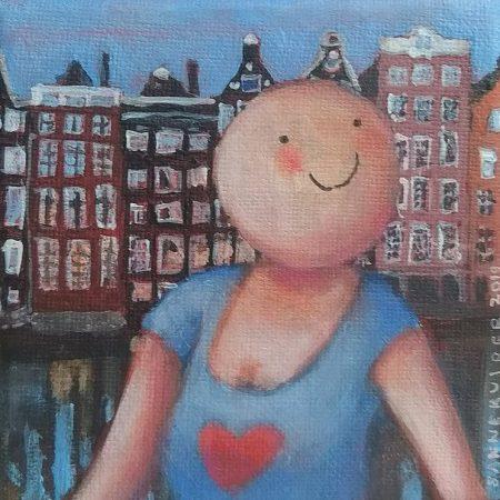 2019 Mijn Amsterdam 10 x 10 cm